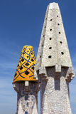 Palau Guell - Barcelona - Spain royalty free stock image