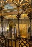 Palau Guell - Barcelona - Spanje Royalty-vrije Stock Foto's