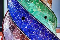 Palau Guell - komin Zdjęcia Stock
