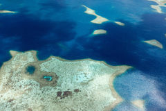 Palau islands from above Stock Photo