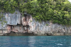Palau Islands in 2015 Royalty Free Stock Photography