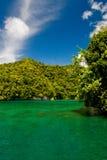 Palau-Küstenlinie Stockfotografie