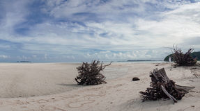 Palau lang strand Stock Afbeeldingen