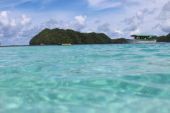 Palau. Daily life and surroundings Royalty Free Stock Photos