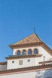 Palau Maricel located in Sitges, Spain Royalty Free Stock Images