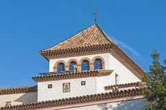 Palau Maricel located in Sitges, Spain Stock Photos