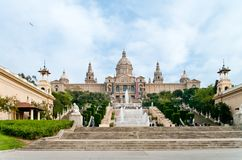 Palau Nacional Royalty Free Stock Photo