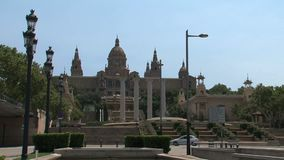 Palau Nacional, Barcellona, Spagna, archivi video