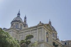 Palau Nacional Barcelona Fotografia Royalty Free