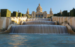 Palau Nacional, Barcelona Royalty Free Stock Image