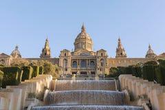 Palau Nacional, Barcelona Stock Photos
