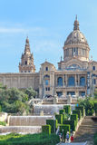 Palau Nacional Barcelona Royalty Free Stock Image