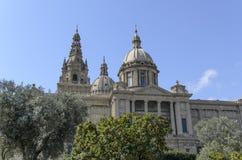 Palau Nacional di Barcellona Fotografia Stock Libera da Diritti