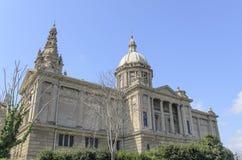 Palau Nacional di Barcellona Fotografia Stock