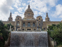 Palau Nacional Stock Photography
