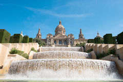 The Palau Nacional Royalty Free Stock Photo