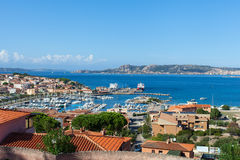 Palau port, Sardinia. Stock Photography
