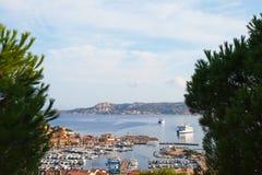 Palau port in Sardinia. Royalty Free Stock Photo