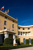 Palau Reial de Pedralbes, Barcelona. Royalty Free Stock Photo