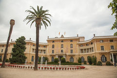 Palau Reial de Pedralbes in Barcelona, Spain Royalty Free Stock Photography