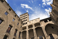 Palau Reial Major - Barcelona Spain Royalty Free Stock Image