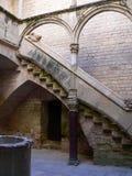 Palau Reial, Monestir de Santes Creus (Cataluña) Imagen de archivo libre de regalías