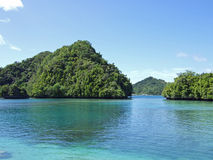 Palau Rock Formation Stock Photos