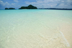Palau's islands and clear water Stock Photo