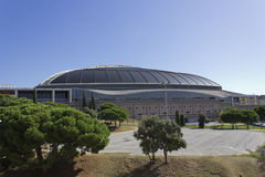 The Palau Sant Jordi Royalty Free Stock Photo