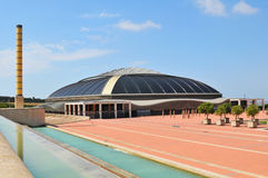Palau Sant Jordi, Barcelona Royalty Free Stock Photo