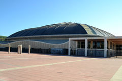Palau Sant Jordi in Barcelona, Spain Stock Photo