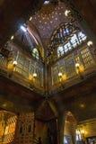 Palauiska Guell - Barcelona - Spanien arkivfoton