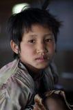 Palaung girl, Myanmar Stock Image