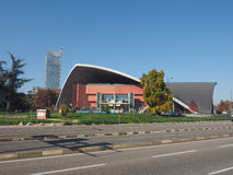 Palavela in Turin, Italy Stock Photos