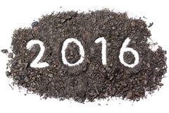 Palavra 2016 Fotografia de Stock