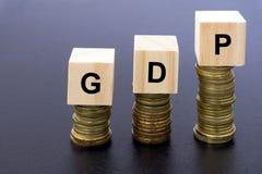 Palavra bruta dos produtos internos do Gdp Imagem de Stock Royalty Free
