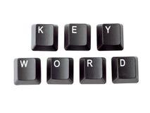 Palavra-chave Imagem de Stock