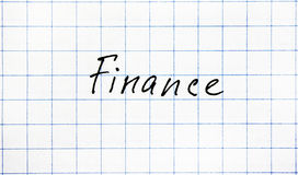 Palavra da economia Fotografia de Stock Royalty Free