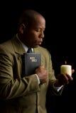 A palavra de deus é uma luz Fotos de Stock Royalty Free
