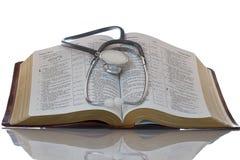 A palavra de deus traz a saúde à alma Imagem de Stock Royalty Free