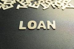 Palavra de empréstimo Foto de Stock