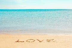 Palavra do ?amor? Imagens de Stock