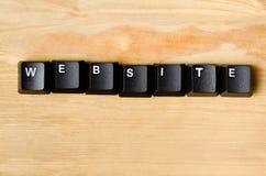 Palavra do Web site Imagem de Stock Royalty Free