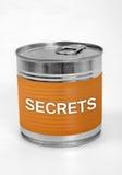 Palavra dos segredos Imagem de Stock Royalty Free