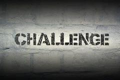 PALAVRA GR do desafio Fotos de Stock
