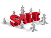 Palavra grande do conceito da venda dos feriados do ano novo Fotografia de Stock