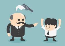 Palavras ao medo ilustração royalty free