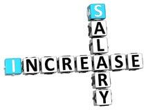palavras cruzadas do aumento de 3D Saletry Imagem de Stock
