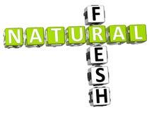 Palavras cruzadas frescas naturais Fotos de Stock Royalty Free