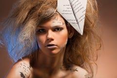 Palavras da beleza Fotografia de Stock